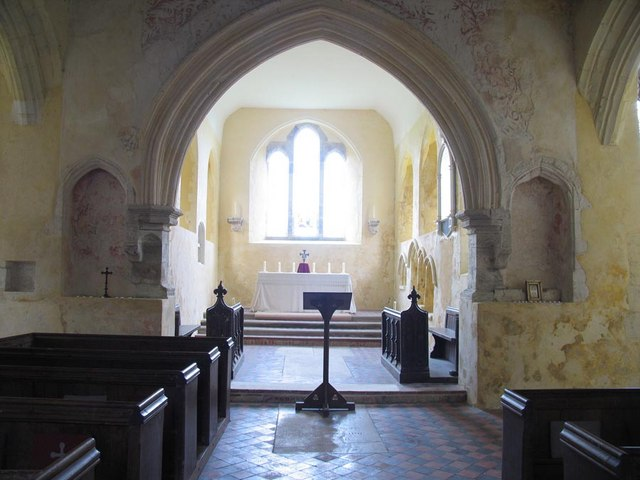St Mary, North Stoke, Sussex - East end