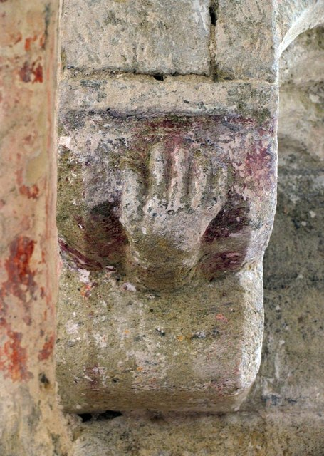 St Mary, North Stoke, Sussex - Corbel