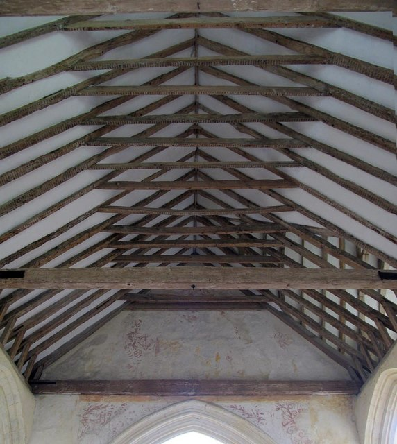 St Mary, North Stoke, Sussex - Roof