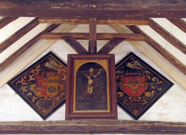 St Mary Magdalene, Tortington, Sussex - Hatchments