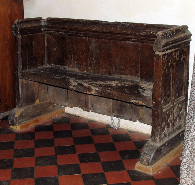 St Mary Magdalene, Tortington, Sussex - Bench