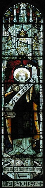 St Michael, Amberley, Sussex - Window