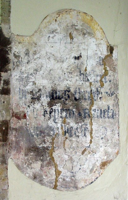St Michael, Amberley, Sussex - Wall painting