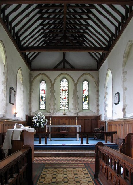 St Michael, Amberley, Sussex - Chancel