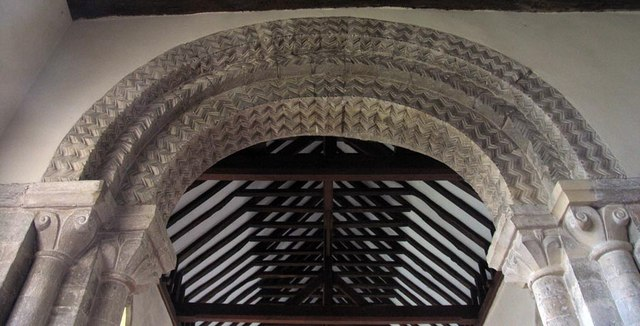 St Michael, Amberley, Sussex - Chancel arch