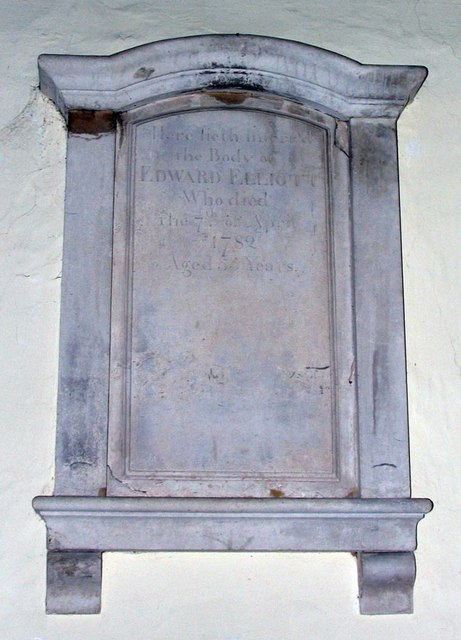 St Michael, Amberley, Sussex - Wall monument