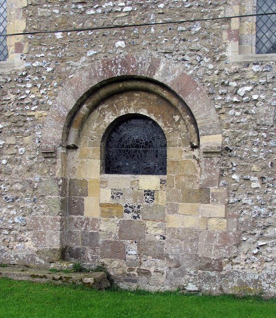 St Michael, Amberley, Sussex - Blocked doorway