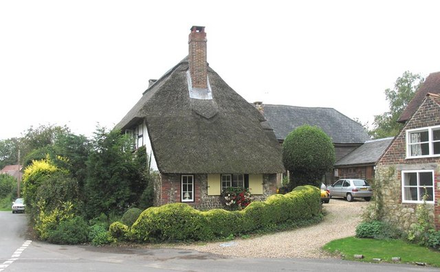 Thatched cottage, Amberley, Sussex -