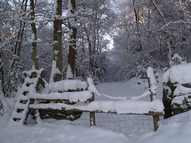 Footpath and Stile near Kipperlynn
