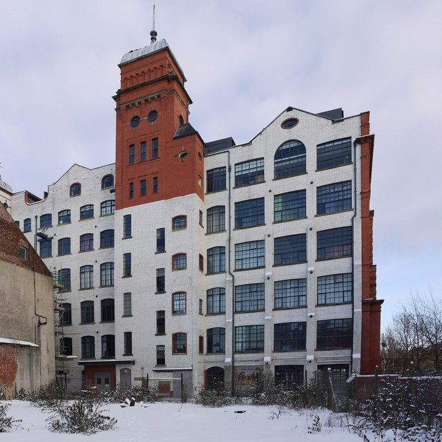 Rear of Turnbull Building from Clavering Place