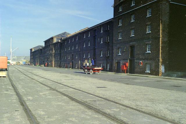Chatham Dockyard, quay