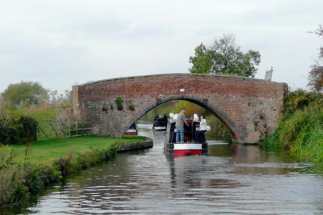 Coach and Horses Bridge near Egginton, Derbyshire