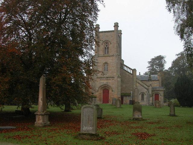 Cranston Church and churchyard
