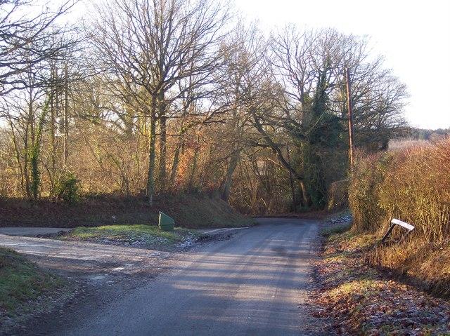 Brick Kiln Lane Junction on Spelmonden Road