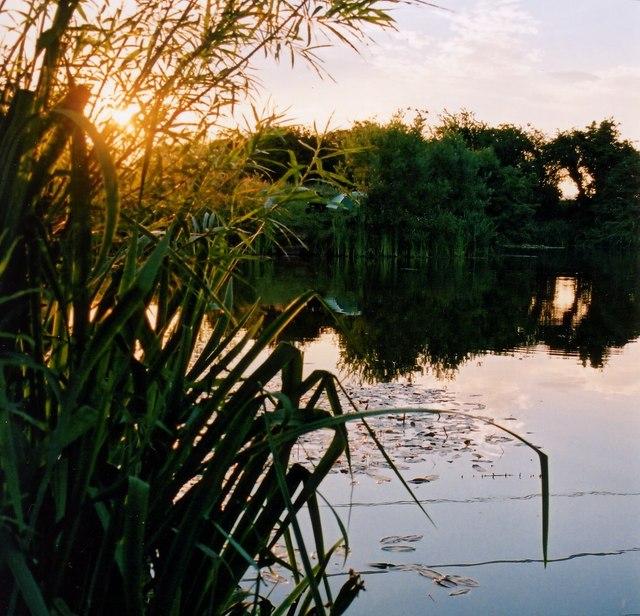 Sunset at Carleton Hill Fishery