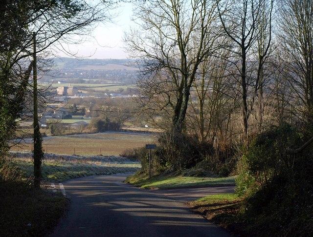 Lane to Bradley Green