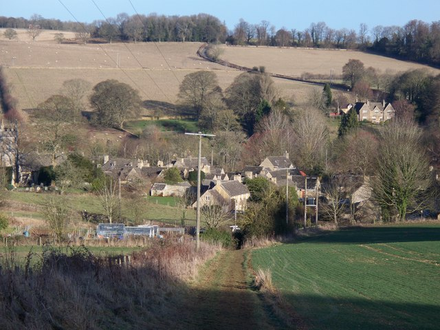 Upper Slaughter village