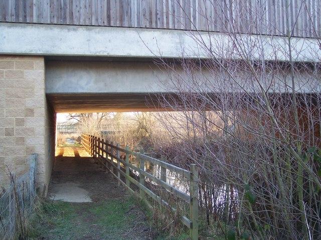 Footpath under the A21Lamberhurst Bypass