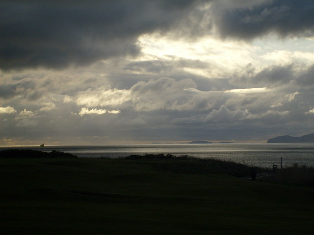 Ireland from Shiskine golf course.