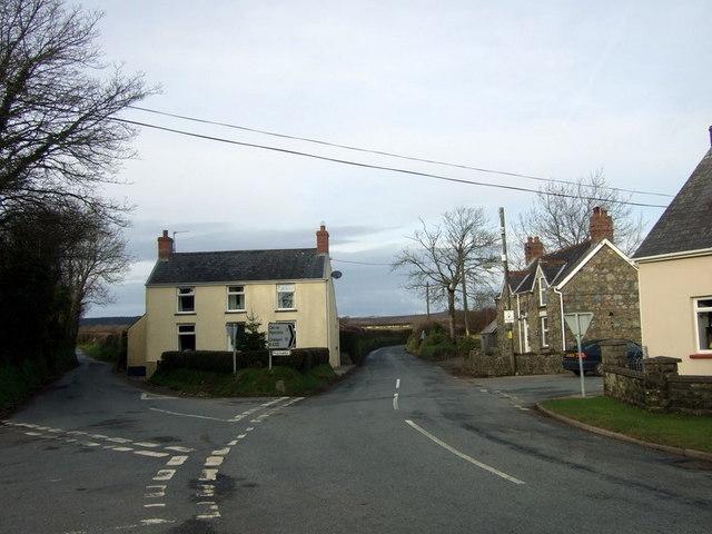 Folly Cross near Camrose