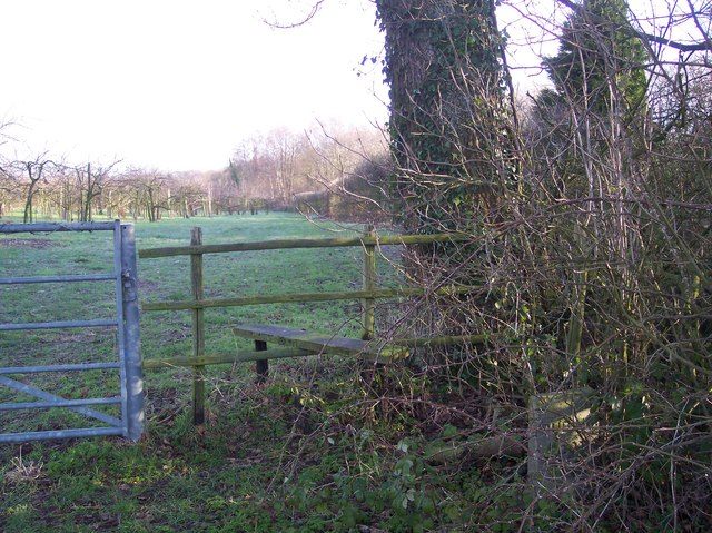 Stile near Green Lane