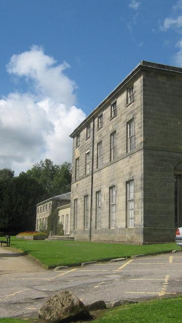 Allestee Hall in Allestree Park in Derby