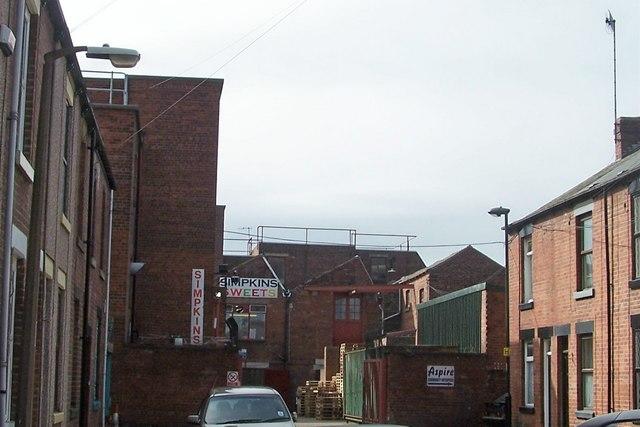 Simpkins Sweet Factory, Roselle Street, Sheffield