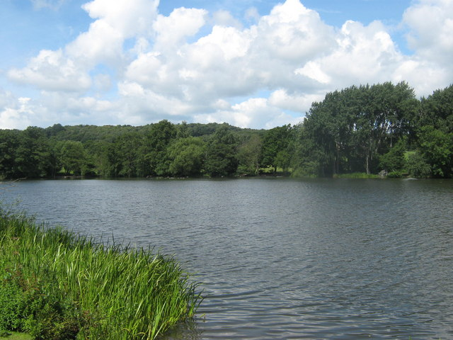 Allestree Lake in Derby