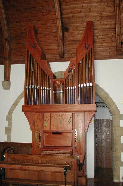 St Mark, Peaslake, Surrey - Organ