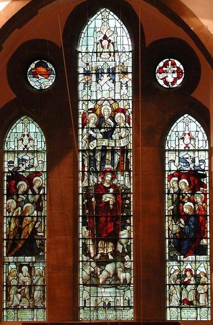 St Mark, Peaslake, Surrey - Window