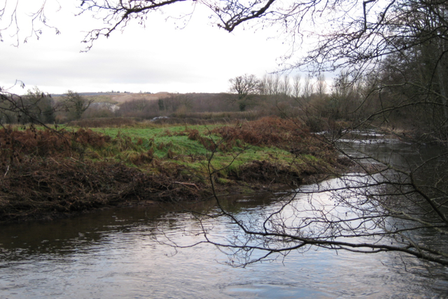 River Teign above New Bridge