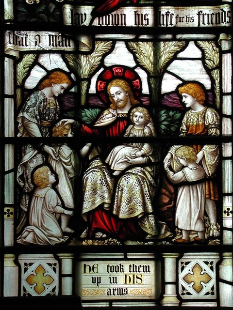 St Mark, Peaslake, Surrey - Window