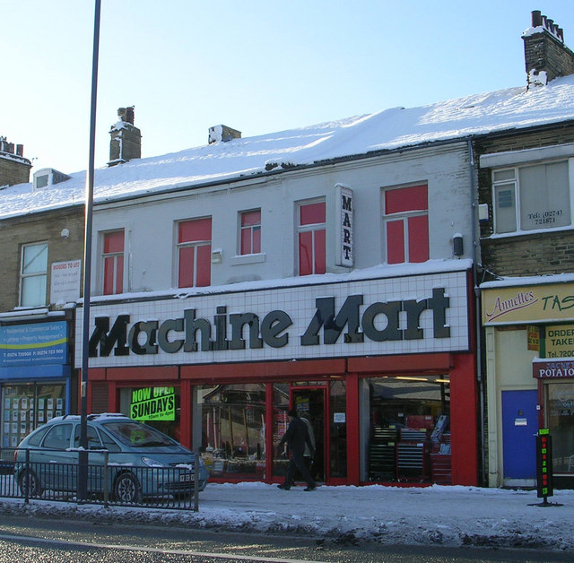 Machine Mart - Manningham Lane
