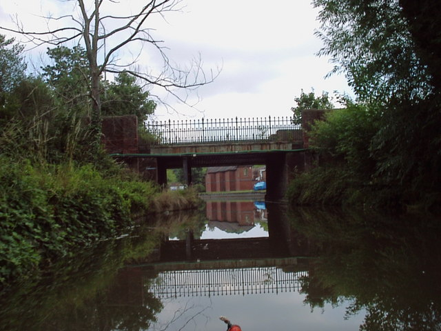 Basingstoke Canal Approaching Ash Road Bridge