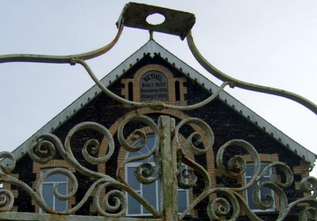 Bethel chapel dates