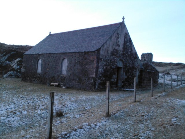 Old disused church