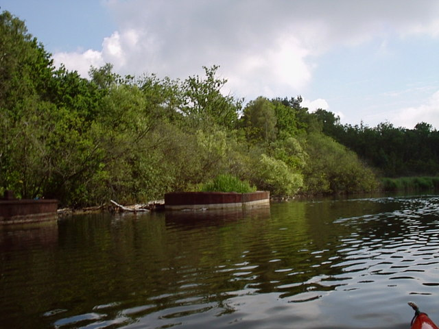 Basingstoke Canal Silt Barges