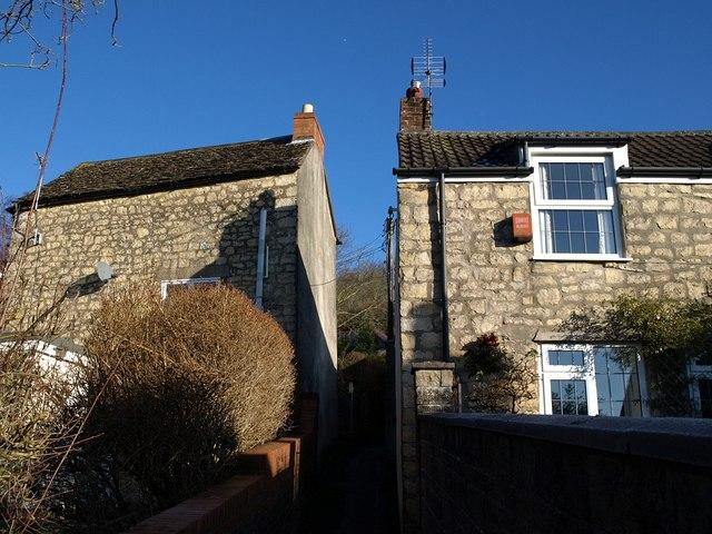 Houses on Little Acre, Wotton-Under-Edge