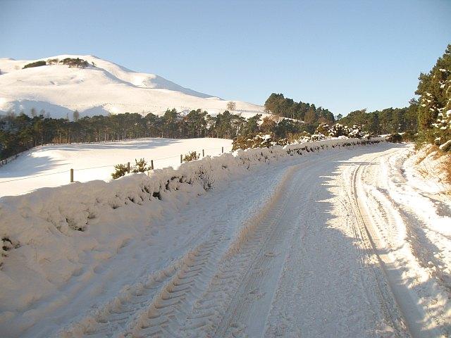 Glencorse road
