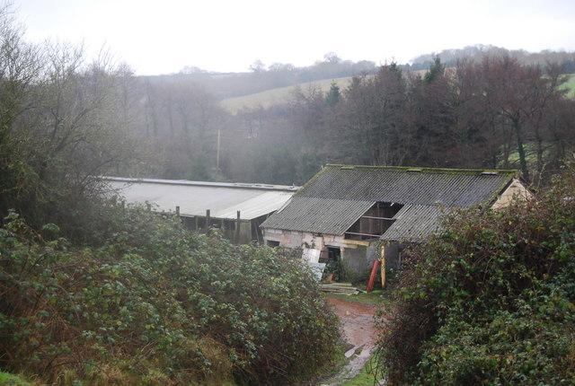 Old barn, Water Farm