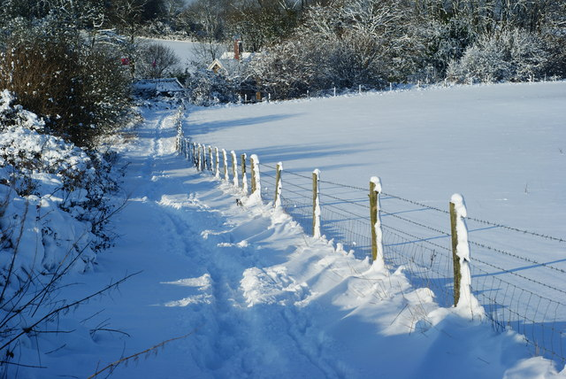 The Path to Fanny's Farm Shop, Merstham, Surrey