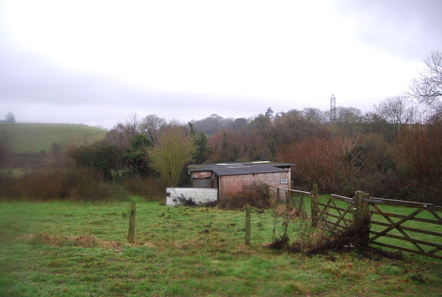 Farm building near the West Somerset Railway