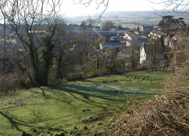 Wotton-Under-Edge from the Cotswold Way