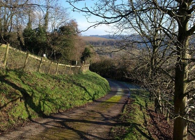 Drive on Wotton Hill