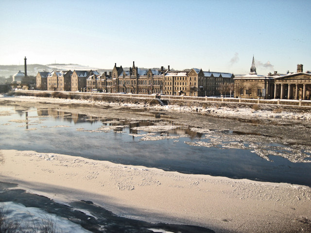 The wintry Tay