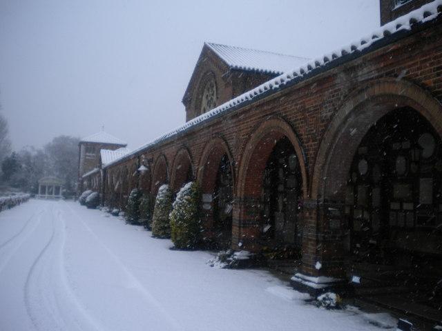 Arches, Golders Green Crematorium, Hoop Lane NW11