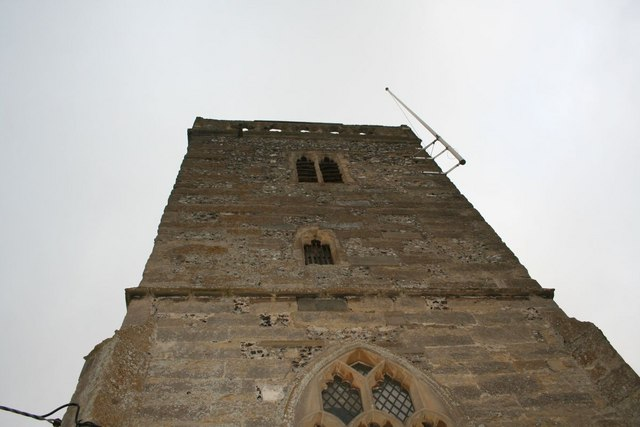 Looking up the bell tower