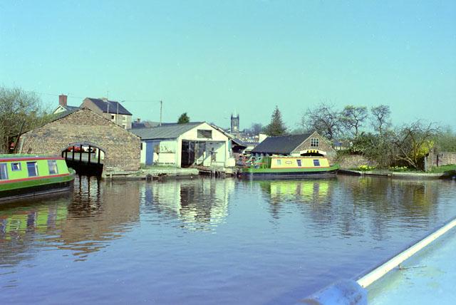 Dry docks, Stone, 1984