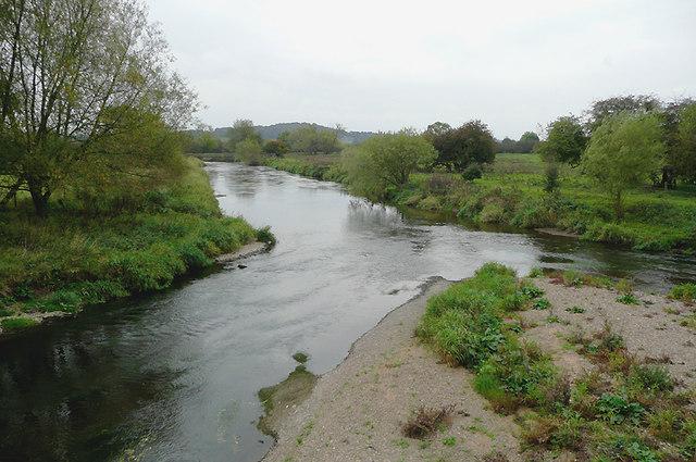 River Dove near Stretton, Staffordshire