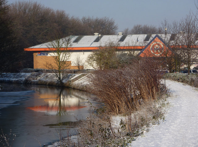 Store by the river